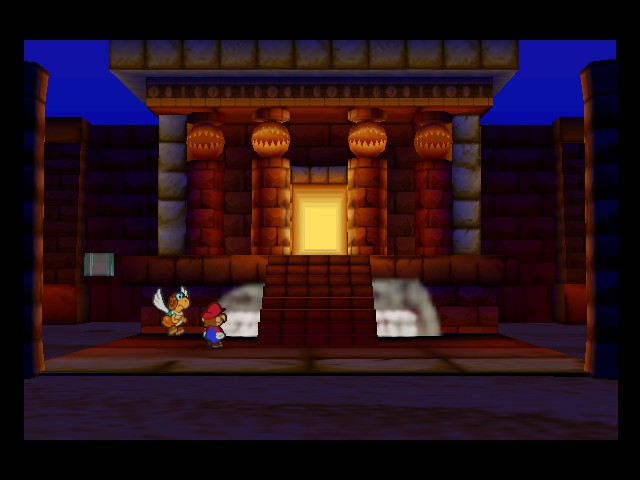 Paper Mario - Location  - is it just me or does it remind me of aladin - User Screenshot